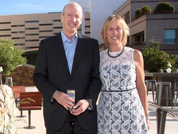 Elizabeth and Bruce Dunlevie