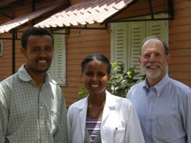 Dr. Blumenthal in Ethiopia