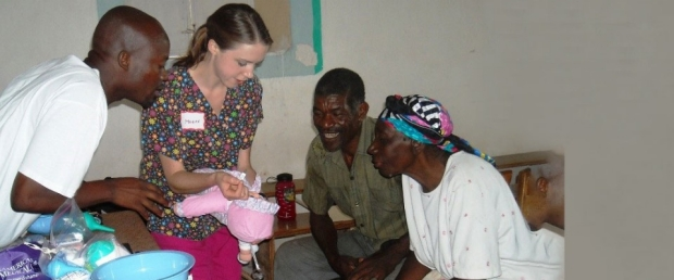 Megan Foeller in Haiti